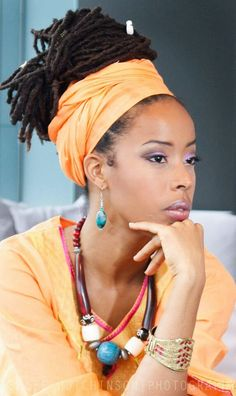 Love these locs.  Beautiful #naturalhair.