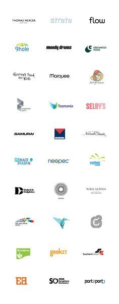 Logo Design Collection by David Popov #logos