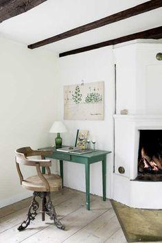 cozy corner work space