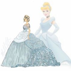 Okay admit it, you've dreamed about being a Disney Princess at least once. Michael Anthony designs debuted a Disney Disney Princess Fashion, Disney Princess Dresses, Disney Dresses, Princess Gowns, Cinderella Disney, Disney Fashion, High Fashion, Disney Pocahontas, Princess Tiana