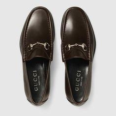 d6ff7b28719 Gucci 1953 Leather Horsebit loafers