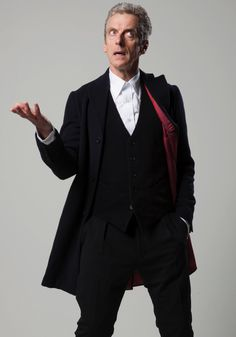 """For Peter Capaldi, playing the Doctor  takes him back to his roots as an actor. At a press event  Capaldi revealed that his acting was most influenced by men who have played the part of the famous timelord, rather than by the traditional greats.  """"I've been watching the show since I was five years old,"""" he said.""""Actors who played Doctor Who – Patrick Troughton, Jon Pertwee, Tom – those were the people I was watching. More than Laurence Olivier."""""""