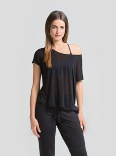 The fabric is super soft, snag free and lightweight, offering a gorgeous drape to accentuate your style. The perfect layering piece for every occasion. Soft fabric Wear off the shoulder, tied, loose or tucked Comfortable lounge piece Athleisure Navy Color, Workout Tops, Athleisure, Get The Look, Soft Fabrics, Off The Shoulder, Your Style, Active Wear, Short Sleeves