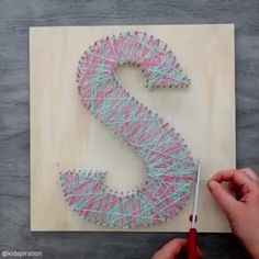 Beautiful diy 😀 Tag your friends to see it 😊 Credit:@kidspiration Follow @clevernova for more daily videos #diyfun #diyfuture #diyvideos #easydiy #diyblogger #diyideas #diycrafts #craftideas #craftofinstagram #instacrafts #craftart #handmadeart #diyprojects #diyhomedecor #diytutorial #diygifts #craftymama #diyvideo #goodideas Daily Video, String Art, Handmade Art, Diy Tutorial, Diy Gifts, Diy Home Decor, Easy Diy, Arts And Crafts, Diy Projects