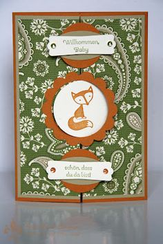 Stampin' UP! Fox and Friends Perfekte Pärchen by First Hand Emotion