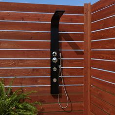 Denton+Two-Jet+Outdoor+Shower+Panel+With+Hand+Shower+