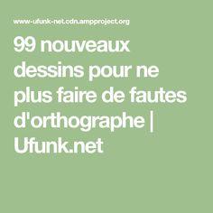 99 nouveaux dessins pour ne plus faire de fautes d'orthographe   Ufunk.net