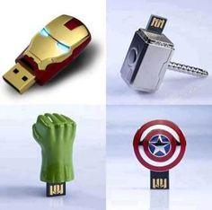 The Avengers pen drive, USB Hero Marvel, Marvel Dc Comics, The Avengers, Usb Drive, Usb Flash Drive, Geeks, Univers Marvel, Catwoman, Narnia