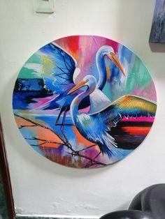Hermosa propuesta de obra moderna circular Collor, Abstract, Artwork, Modern Paintings, Proposal, Artworks, Sweetie Belle, Art Production, Summary