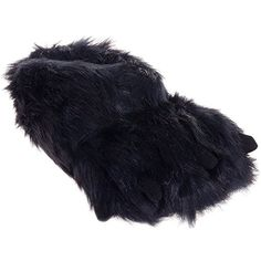 Silver Lilly Bear Paw Animal Slippers