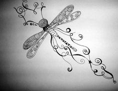 Libelula Tattoo.  Estos bocetos han sido creados para amigos y amigas que se querían tatuar. SON ÚNICOS. Si has pensado en usarlos, no lo hagas...ponte en contacto conmigo y te diseñaré uno GRATIS.  __________________________________________    These tattoos were created specially for friends. They're UNIQUES. If you were thinking to use them...DON'T DO IT! Please, contact me and I will design yours . IT'S FREE