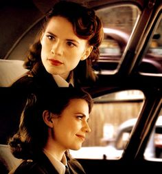 Peggy Carter is super Awesome but not as awesome as the Black Widow❤️