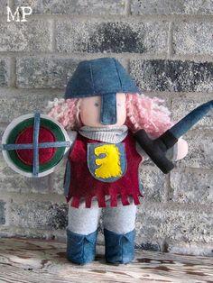 Custom knight costume