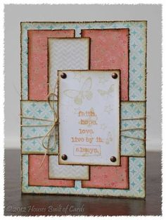 Faith, hope, love... by housesbuiltofcards - Cards and Paper Crafts at Splitcoaststampers