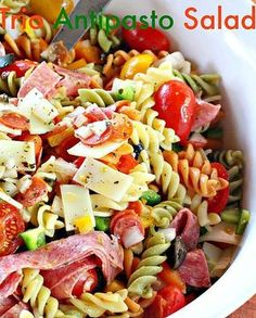 Antipasto salad recipe without pasta Anti Pasta Salads, Antipasto Pasta Salads, Pasta Salad Recipes, Healthy Salad Recipes, Fruit Salads, Yummy Recipes, Yummy Food, Antipasta Salad Recipe, Gourmet