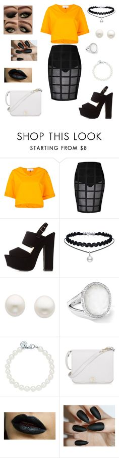 """""""'I miss the way you make me feel'"""" by dpclma ❤ liked on Polyvore featuring Le Ciel Bleu, Charlotte Russe, Reeds Jewelers, Ippolita, Tiffany & Co. and Furla"""