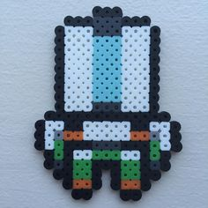 """Welcome to the Pixelated Overwatch Spotlight, featuring Bastion. I also have a YouTube channel now. Just search for """"StumpChump"""". #bastion #overwatch #artsandcrafts #perlerbeads #pixelart #crafts #art #artfido #arts"""