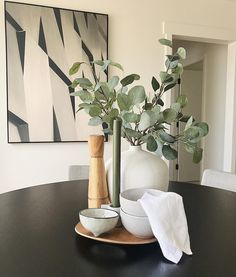 DINING DETAILS | it's those finishing touches and details that pull the look together. This is our specialty! . . . . . #thepropertystylist #professionalstylist #finishingtouches #details #diningroom #diningroomdecor #diningroominspo #diningroomtable #eucalyptus #artificialplants #artificialgreenery #propertystyling #styledtosell #homestaging #stagedtosell #aucklandrealestate Artificial Plants, Home Staging, Dining Room Table, Greenery, This Is Us, Stylists, It Is Finished, Things To Sell, Style