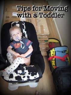 Tips for moving with a toddler, or a sensory kid.