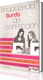 REVISTAS DE MANUALIDADES GRATIS: Enciclopedia Burda de confección