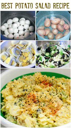 Best Potato Salad Recipe with Eggs