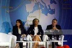 Photo d'actualité : Anne Hidalgo, Valérie Pécresse and Gérard...