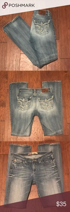 Big Star Hazel Fit Jeans Big Star, Hazel Fit, 27L Jeans.  In great pre-owned condition.  Some wear on back on hem.  See pictures. Big Star Jeans