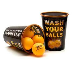 Reusable Beer Pong Wash Cups