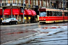 a rainy day in Den Haag. #train #photography