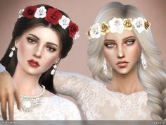 Shimmy Headband by toksik at TSR via Sims 4 Updates
