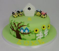 The Hive Themed Children's Birthday Cake