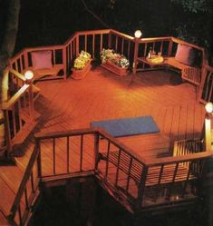 Accent on Deck Lighting - Outdoor lighting is not only decorative but highly functional in the deck area. Learn about safety recommendations and the many available choices.