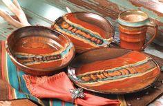 crowe's nest dinnerware   Southwestern Dinnerware, Flatware, Drinkware, Serveware, and ...