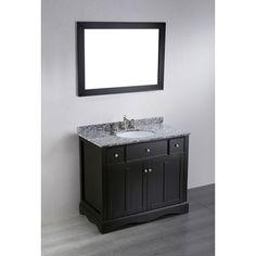 39'' Bosconi SB-2205 Contemporary Single Bathroom Vanity