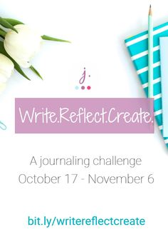 Are you a writer, blogger or creative coach who wants to create authentic, relevant content for your readers? Join an awesome group of writers in the #WriteReflectCreate challenge and learn how you can use journaling to not only engage in self-awareness, but also to create content that resonates with your audience.