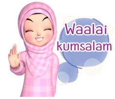 Meet sweet girl Amarena 3D, Muslim hijab cute and lovely girl, to cheer up your daily conversation. islam