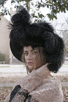 The Most Spectacular Edwardian Hat I've Ever Seen by BoudoirQueen, $675.00