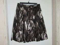 Jones New York Collection Skirt Size 6 Pleated Fully Lined Abstract #JonesNewYork #Pleated