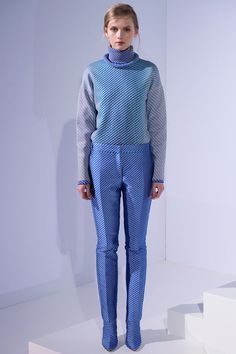 Prints upon prints and sweaters upon sweaters. London fashion week is not disappointing!