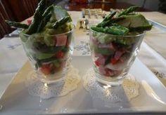 Recept voor Asperge-avocado salade