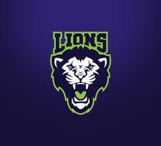 Lions on Behance