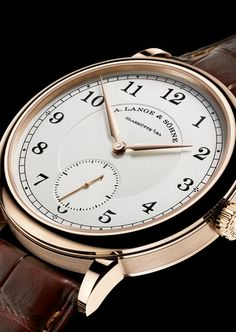 Introducing: The A. Lange & Söhne 1815 Anniversary Of F.A. Lange In Honey Gold