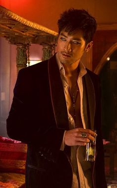 Godfrey Gao as Magnus Bane - don't care that he's gay in the movie, he's super sexy irl