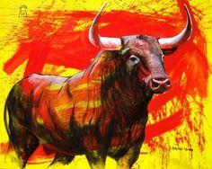 AMERICO HUME / Obra de arte: bull Artistas y arte. Artistas de la tierra / 2012