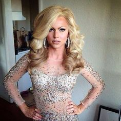 Courtney Act. Leave it to a gay man to do it better than most women. #bam