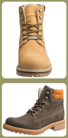 robuste Stiefeletten von Tamaris #boots #shoes