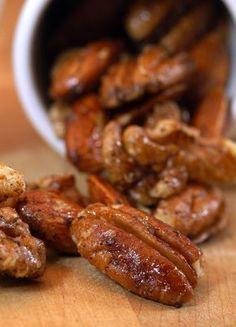 Karmic Kitchen: Spicy Maple Nuts