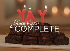 Juice PLUS+ Raspberry Brownies