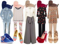 """Muslimah Fashion"" by azura-yusoff on Polyvore"