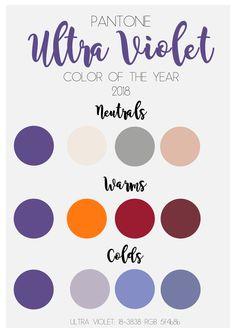 Ultra Violet il colore secondo PANTONE del 2018: tutti gli abbinamenti
